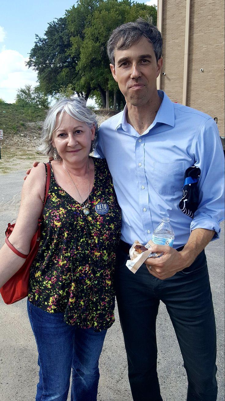 Beto for Senate! 💙 Beto O'Rourke and me aft…