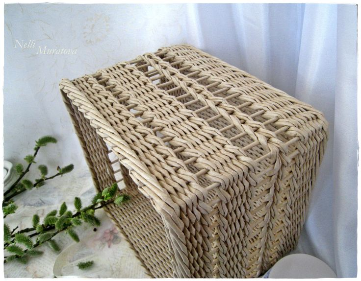 Basket square for needlework