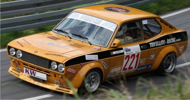 Fiat 128 Coupe - Racing