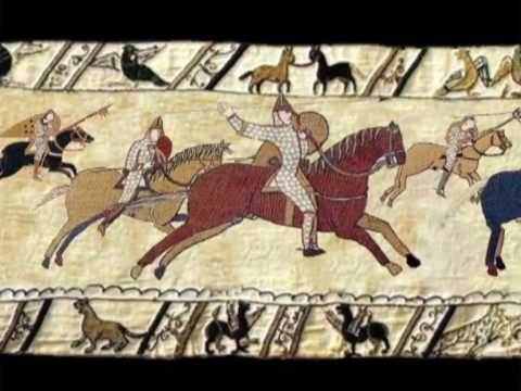 Animated Bayeux Tapestry - The Conquest 1066 https://www.youtube.com/watch?v=LtGoBZ4D4_E