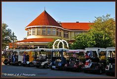 The Villages (Florida) Photos: The Veranda Restaurant. Riding in the golf carts is so fun! :)