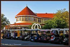 The Villages (Florida) Photos: The Veranda Restaurant.  Riding in the golf carts is so fun!  :)