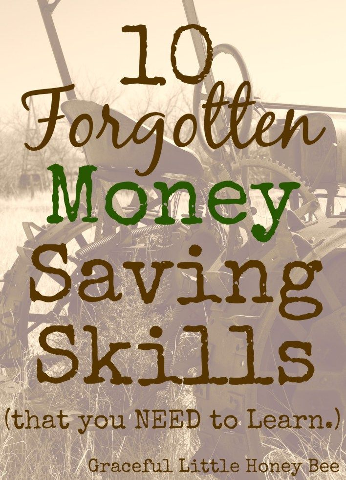 Frugal lessons from the depression