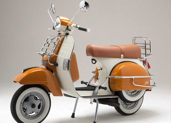 must have scooter ivory-orange