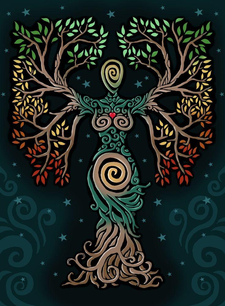Tree by ORUPSIA.deviantart.com on @DeviantArt
