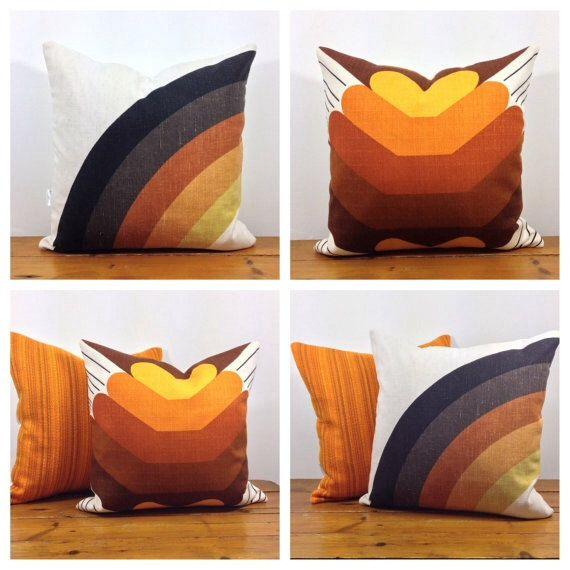 Funky Cushion Cover 60/70s Vintage Retro Fabric 22 x 22 by Retro68 https://www.etsy.com/au/listing/186319648/funky-cushion-cover-6070s-vintage-retro?ref=shop_home_active_24