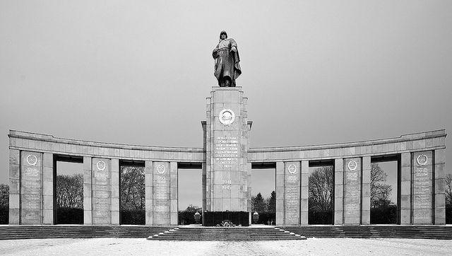 Russian War Memorial Berlin.
