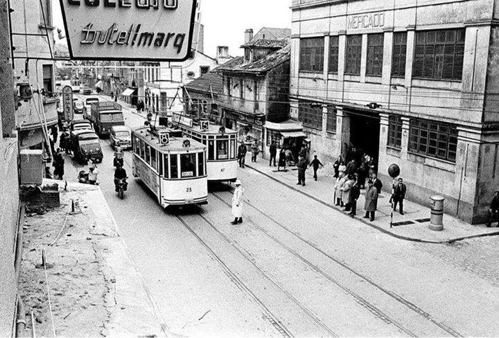 Vigo, ciudad olívica. Fotos antiguas. Mercado del Calvario