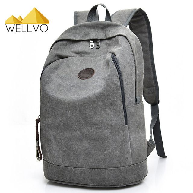 Check current price Men Canvas Backpack Laptop Backpacks For Teenage Boys School Bag Students Casual Travel Large Rucksack Book Bags Brown XA1948C just only $17.48 with free shipping worldwide  #backpacksformen Plese click on picture to see our special price for you