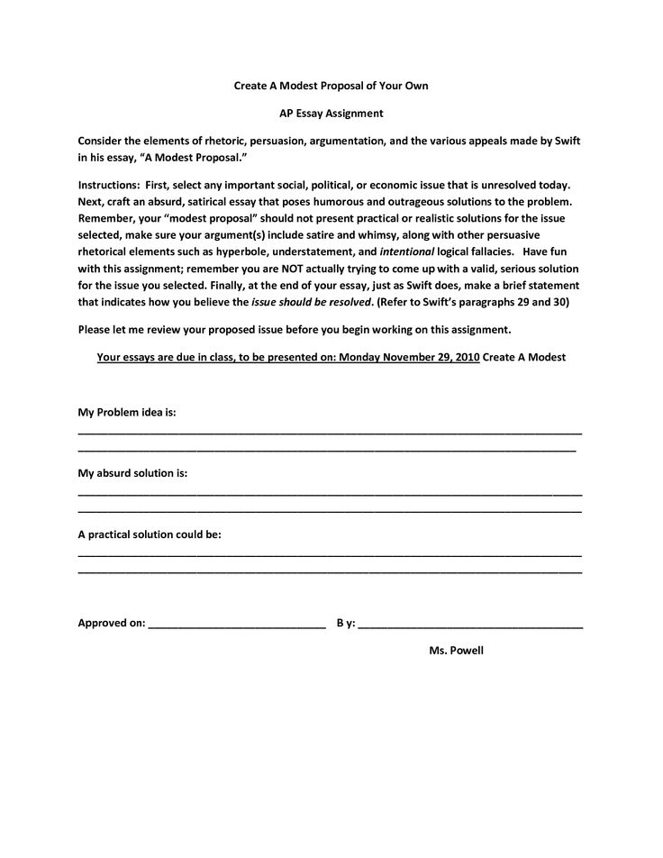 Argument Essay Proposal Argument Essay