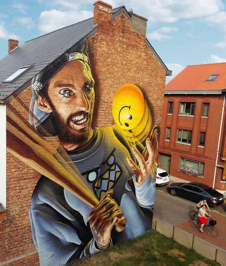 3D граффити от уличного художника Insane 51