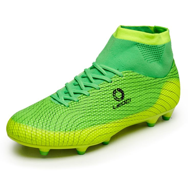 New Leoci Football Boots Men Soccer Shoes Boys Kids Soccer Cleats FG High Ankle Football Shoes Big Size Soccer Boots 33-45 S93 #clothing,#shoes,#jewelry,#women,#men,#hats,#watches,#belts,#fashion,#style