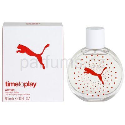 Puma Time To Play, toaletní voda pro ženy 60 ml | parfums.cz