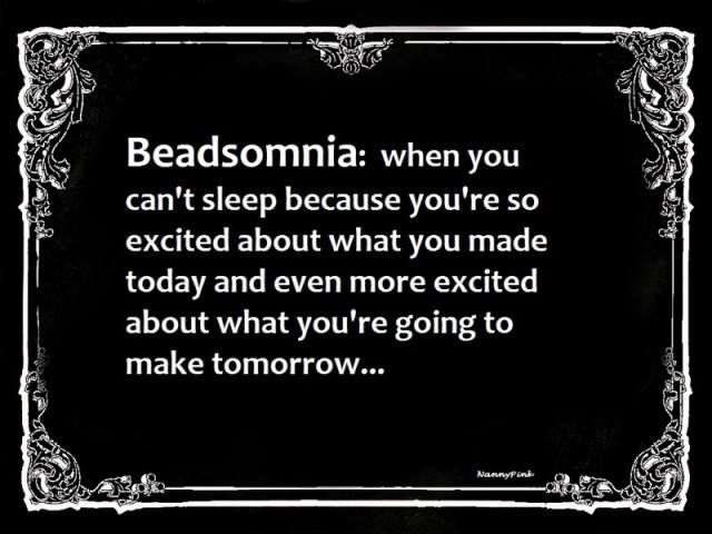 Beadsomnia! Humor For DIY, Crafters, Jewelry Makers