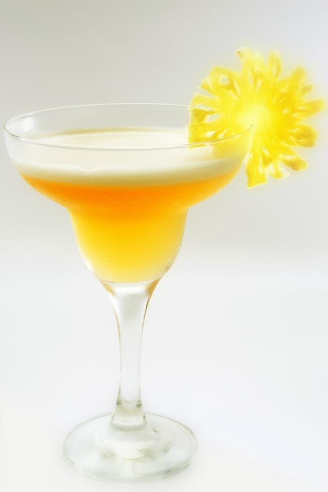 Moscato Lemon Lime Bitters Daquiri