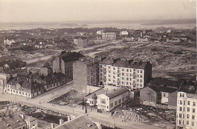 Torkkelinmäki, Harju & Kurvi during WWI
