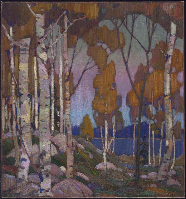 Tom Thomson, Decorative Landscape: Birches, 1915-16