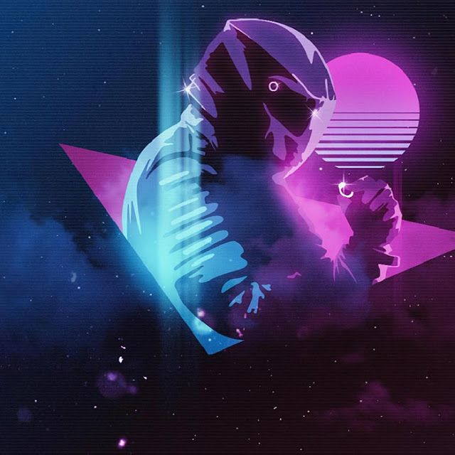 Synthwave Biker Wallpaper Engine Synthwave Synthwave Art Wallpaper