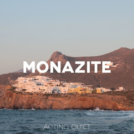 Another album cover for my band, Acting Quiet. The image is taken in Greece on the lovely island Naxos. Listen to the song 'Monazite' here: https://soundcloud.com/acting-quiet/monazite