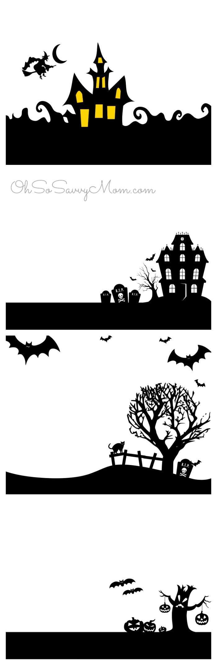 halloween printables - Halloween Decorations Printable