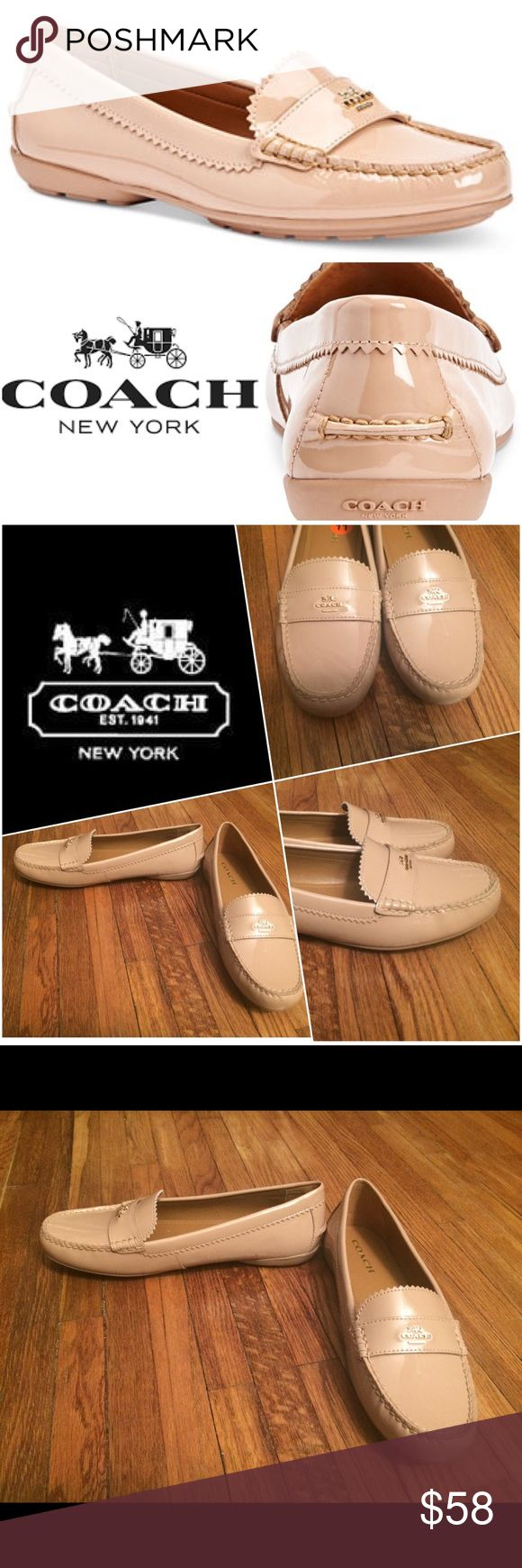 NEW Coach Tan Loafers Size 11 New with tags, patented leather Tan Coach Loafers, adorable & comfy! Originally bought for a client, I'm currently cleaning out my client closets. Open to offers, especially on bundles. With 3 or more items from my closet I give 15% off & I price all my items lower to accommodate for shipping cost. You pay the same for shipping regardless of if you buy one item or multiple items from my closet! Your purchase goes towards the non-profit organization I'm…