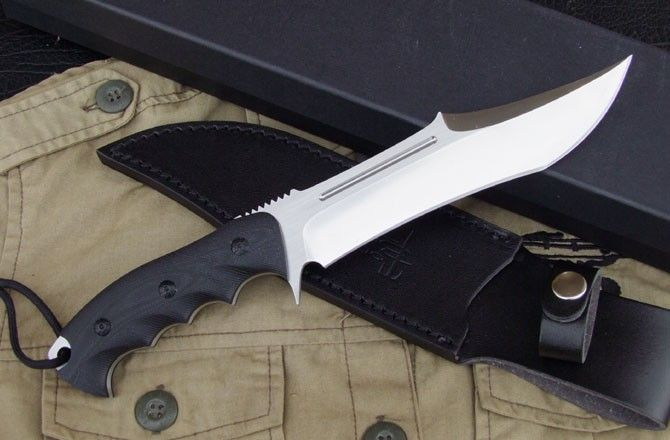 Tod Survival HUNTING KNIFE / fixed hunting knife, Canada Knives and Swords