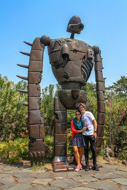 Laputa Robot at the Studio Ghibli Museum in Japan.
