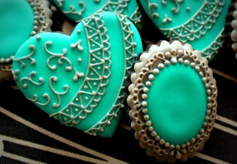 「アイシングクッキーのオーダー③★リングのクッキー」の画像|~Cookie Crumbs~クッキー… |Ameba (アメーバ)