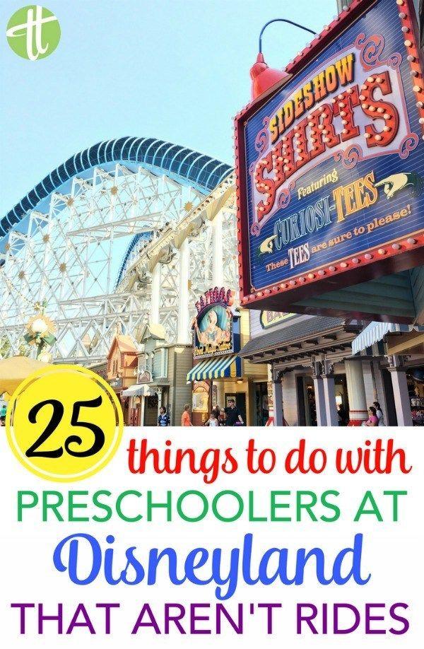 Besuchen Sie Disneyland mit einem Vorschulkind, aber machen Sie sich Sorgen um die Fahrleinen? Es gibt s…