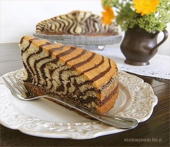 Ciasto Zebra: Ciasto Zebra, Food, Recipes, Kitchen, Polish, Zebras, Dessert