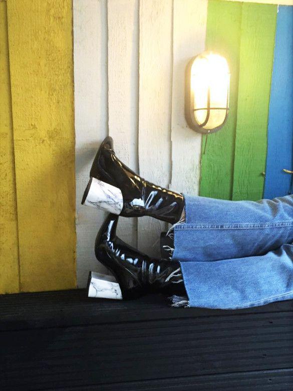 Bibelot: Pimp up your boots tutorial.
