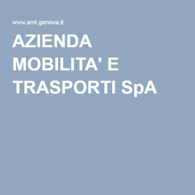 AZIENDA MOBILITA' E TRASPORTI SpA