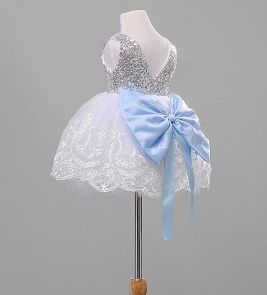 Bowknot Floral Lace Dress – Mamatree