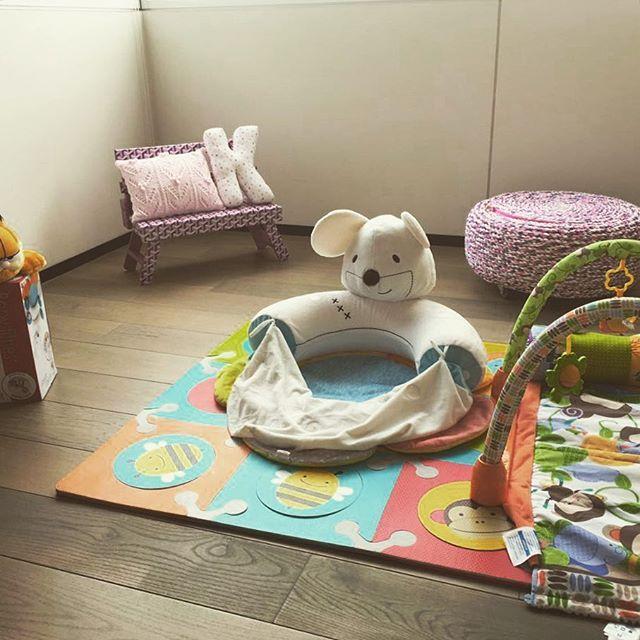 Nos encanto como quedo este coqueto #mazapán de #bebé Rosa!!! Queda perfecto en el cuarto!! #ayokdesign #kidsofinstagram #instafashion #modaparabebes #loveit #trabajoartesanal #compramexicano