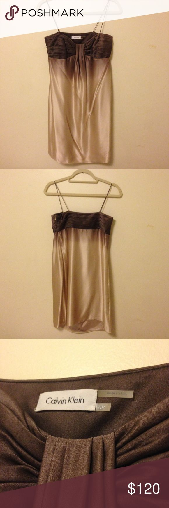 I just added this listing on Poshmark: Calvin Klein silk dress. #shopmycloset #poshmark #fashion #shopping #style #forsale #Calvin Klein #Dresses & Skirts
