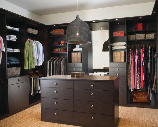Contemporary Closet Design, Pictures, Remodel, Decor and Ideas