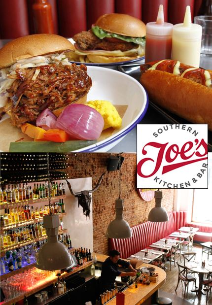 Joe's Southern Kitchen booked for frankies birthday