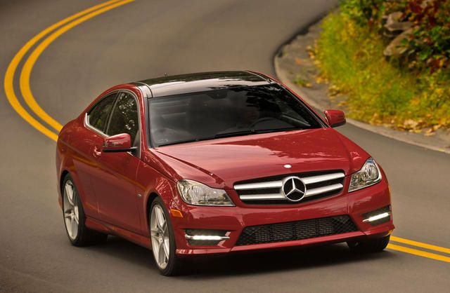 2012 Mercedes C250 Coupe my car love the car I just hate red