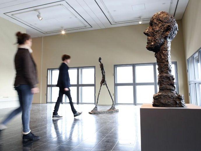 Выставка Альберто Джакометти в Гамбурге