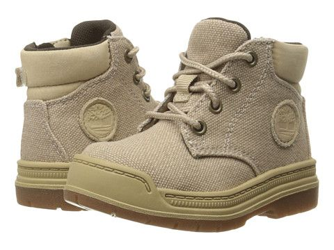 Timberland Kids Ramble Wild Canvas Lace Chukka (Little Kid) Travertine Canvas - 6pm.com