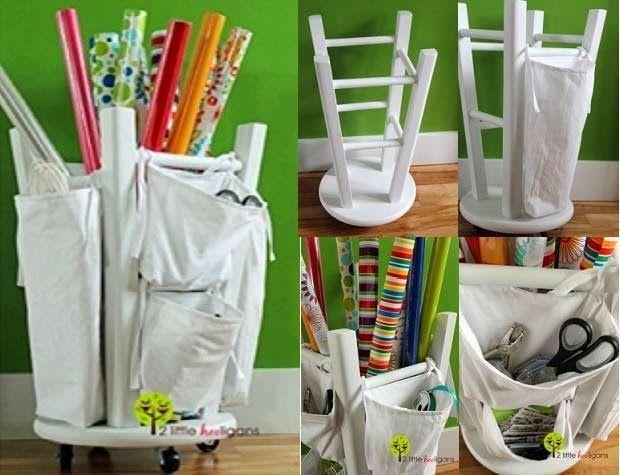 artes del pas buenas ideas ideas creativas ideas bricolaje la organizacin de las ideas proyectos de arte envase artesana bricolaje diy stool
