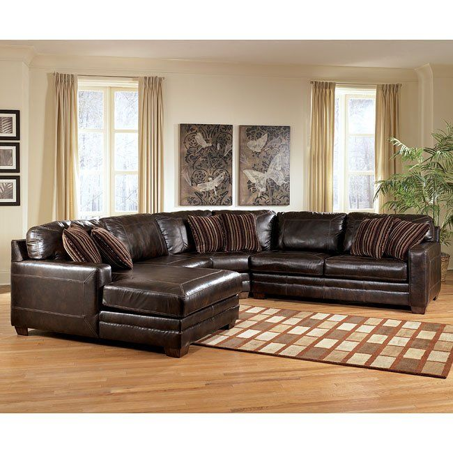 canyon large left chaise sectional