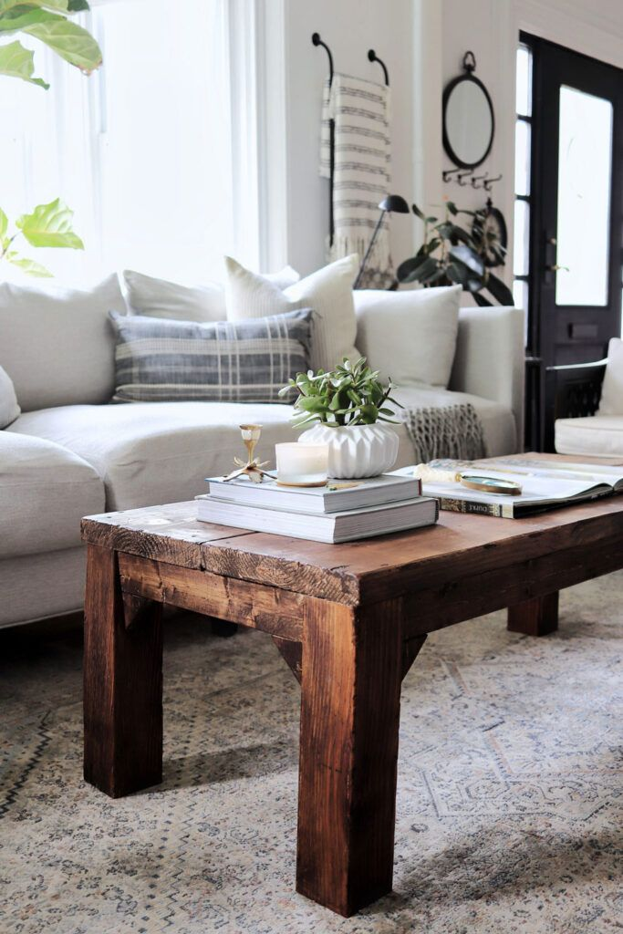 Coffee Table Wood, Things To Use Instead Of A Coffee Table