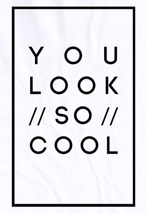 LOOKING COOL | TheyAllHateUs