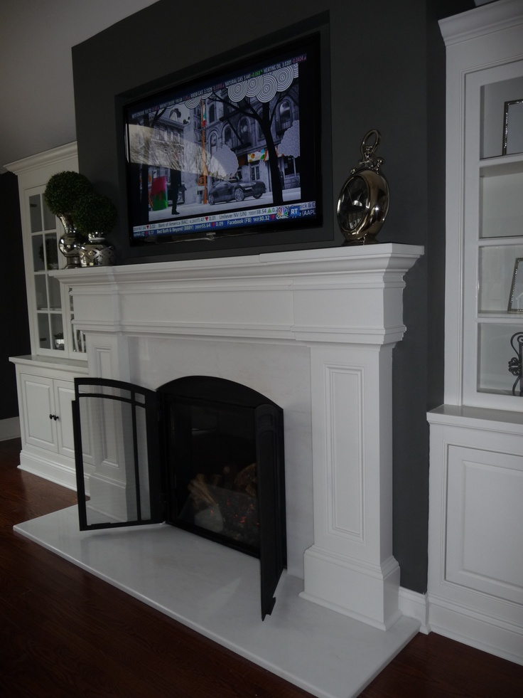 17 Best Images About Fireplaces Mantles On Pinterest