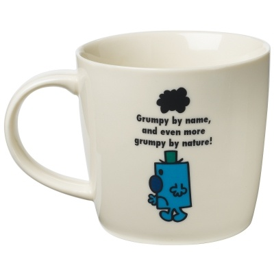 "Mr Grumpy Mug ""Grump by name, and eve more grumpy by nature!"" £8.00 