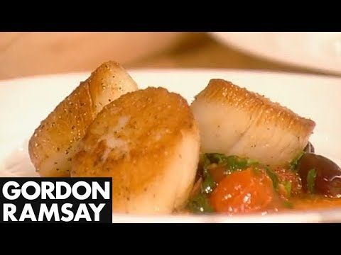How to Cook Perfect Scallops (Part 2) - Gordon Ramsay - YouTube
