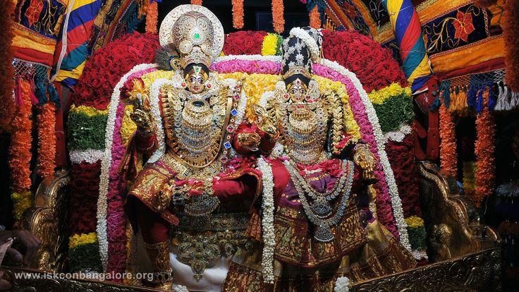 Radha Raja Gopala Alankara  18th Brahmotsava Day 6 Celebrations at ISKCON Bangalore. Download more high resolution pics @ www.iskconbangalore.org/brahmotsava-day-six-celebration