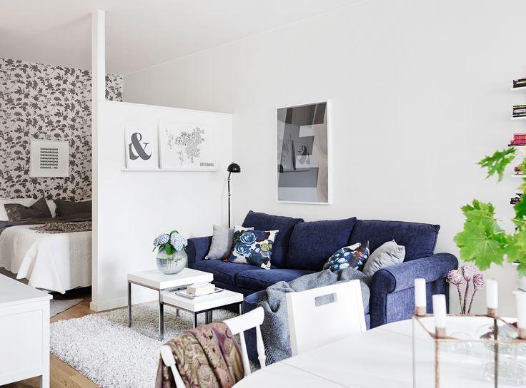 Increible distribución en minipiso de 17 m2   Decorar tu casa es facilisimo.com