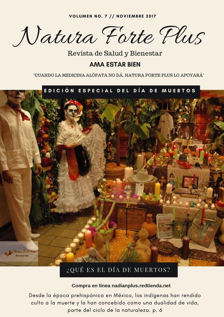 Revista Natura Forte Plus Día de Muertos Noviembre Compra en línea nadianplus.redtienda.net